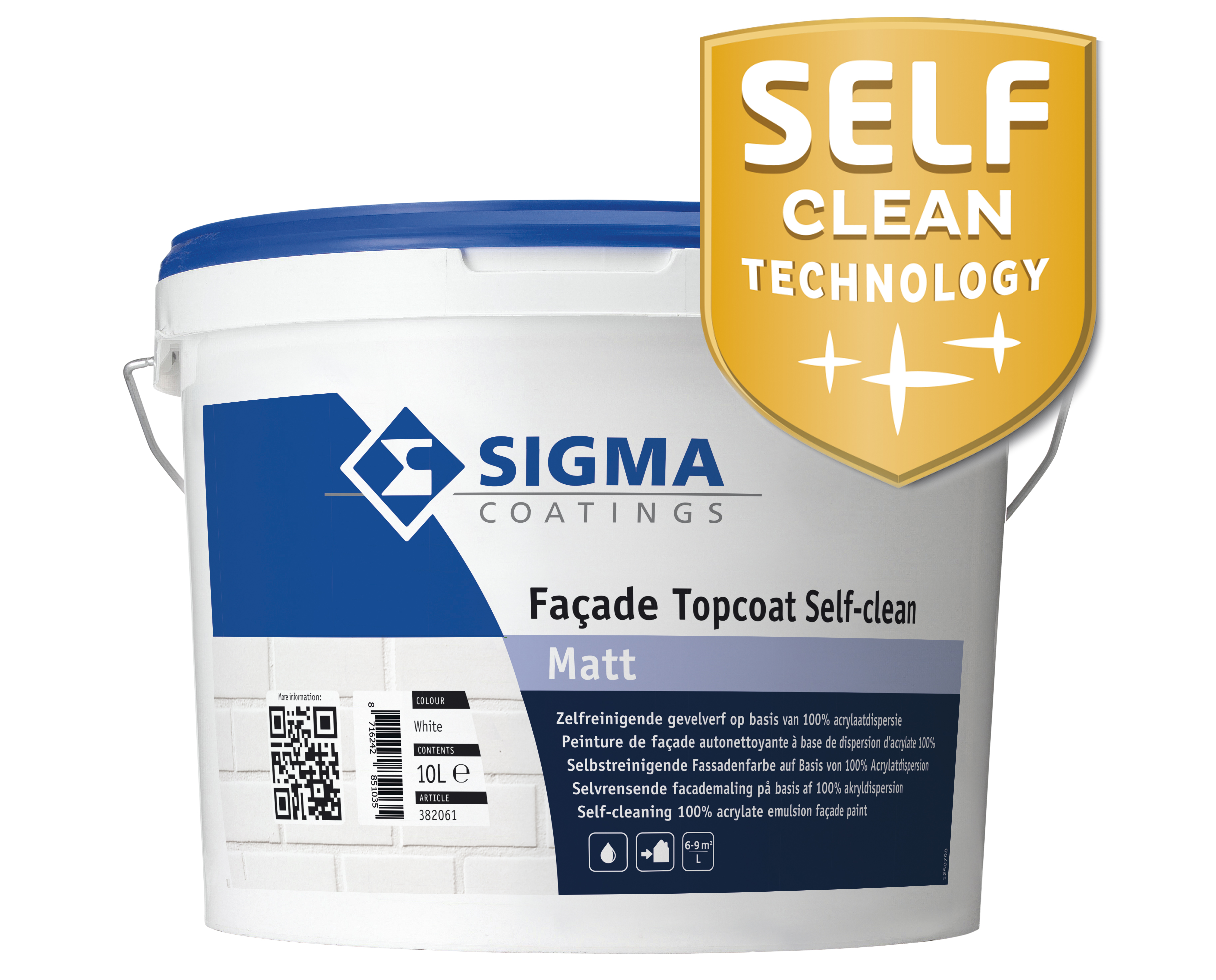 Sigma Façade Topcoat Self-Clean