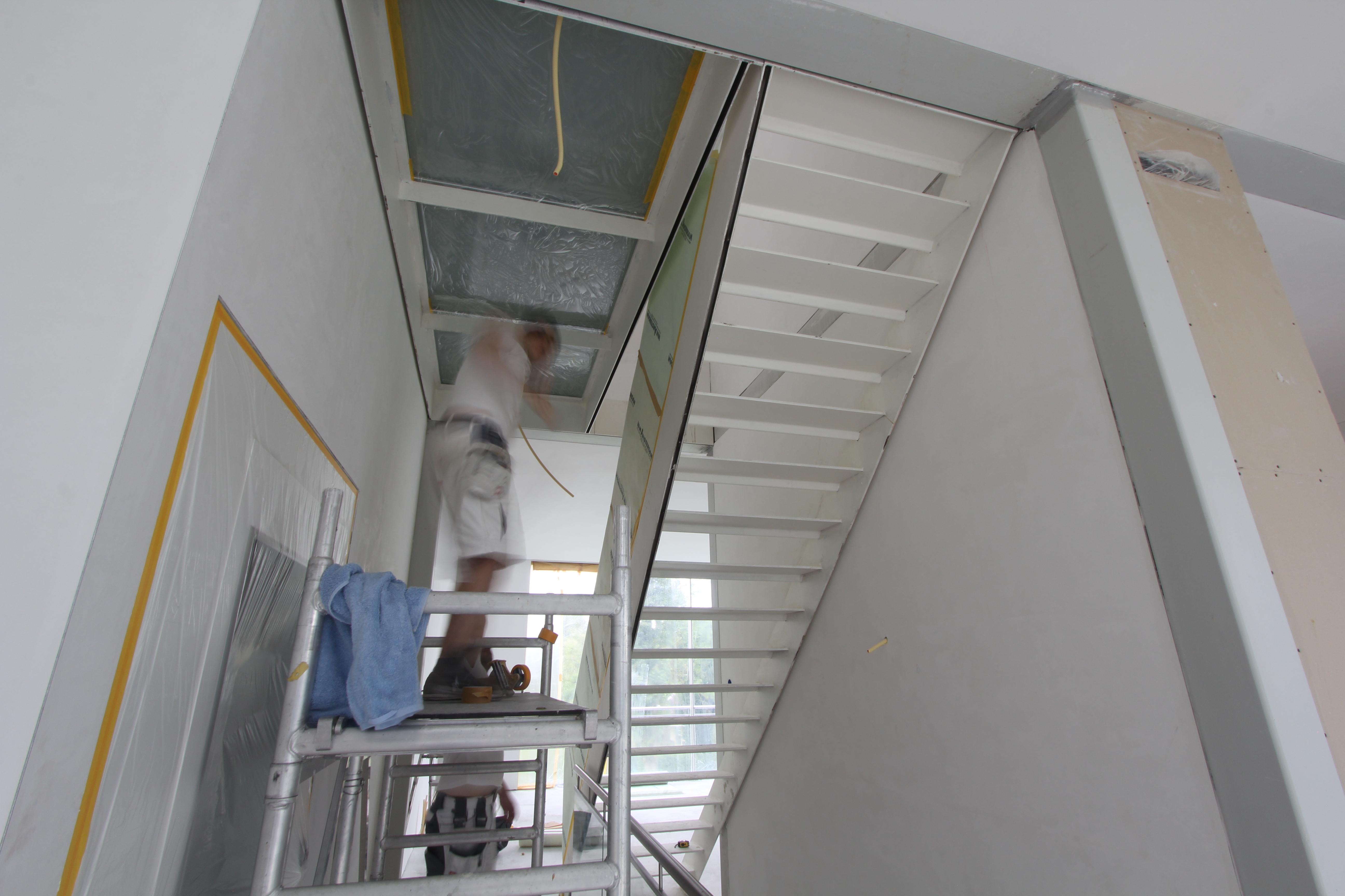 Staalconstructie behandelen met anti roest verf!