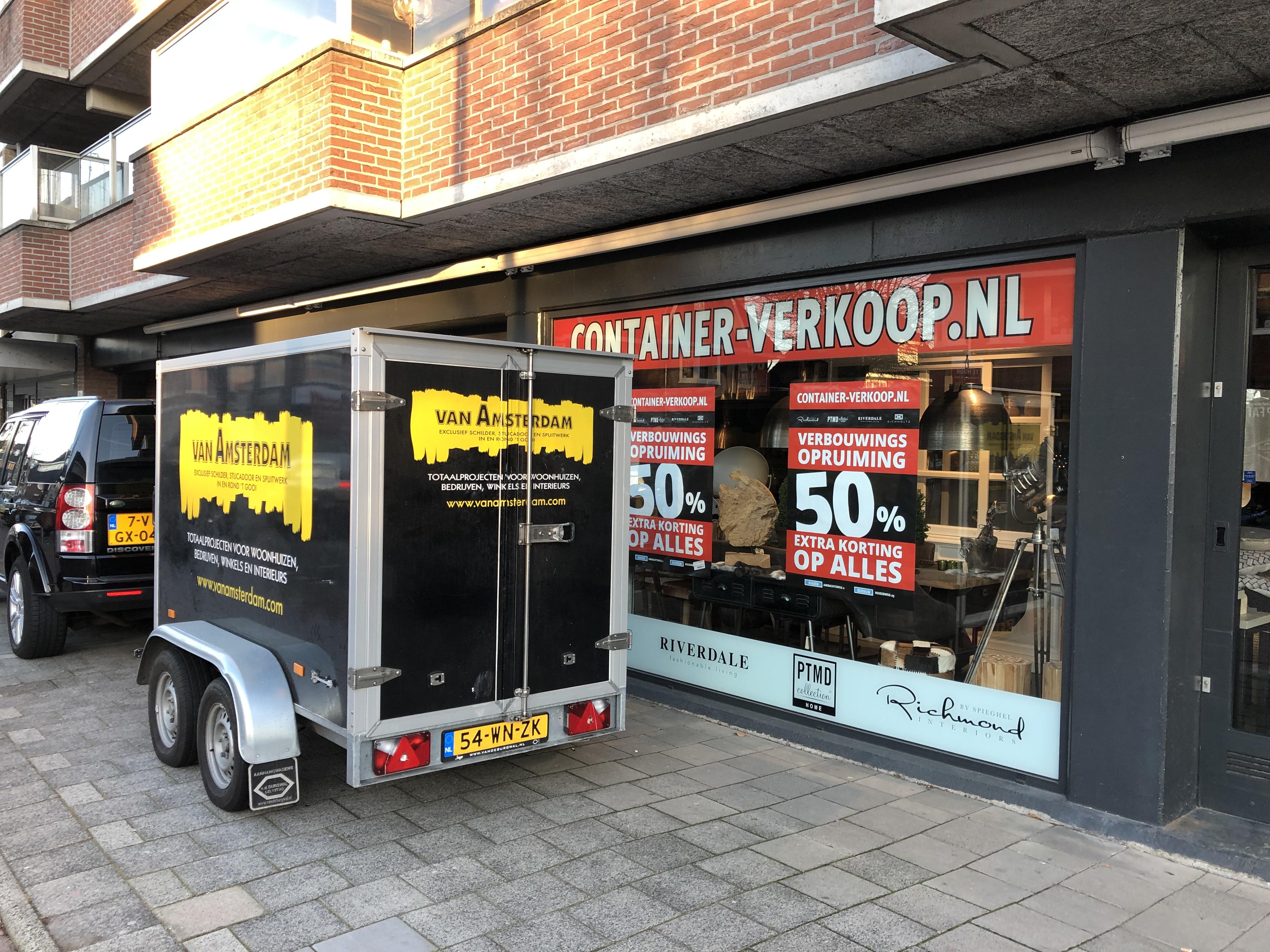 Start verbouwing Container-verkoop Bussum