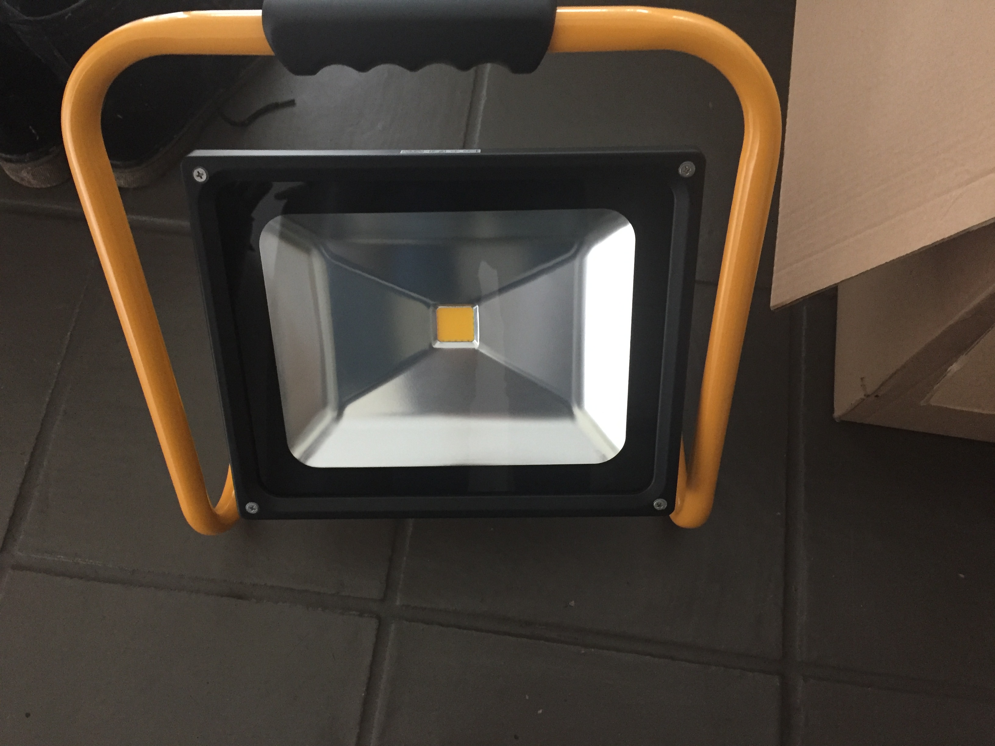 Nieuwe accu-led lampen